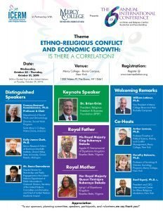 2019 Annual International Conference on Ethnic and Religious